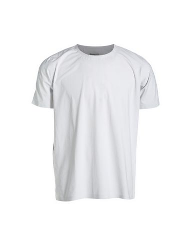 DESCENTE T-Shirts in Light Grey