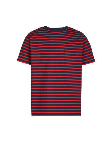 BEAMS T-Shirt in Red