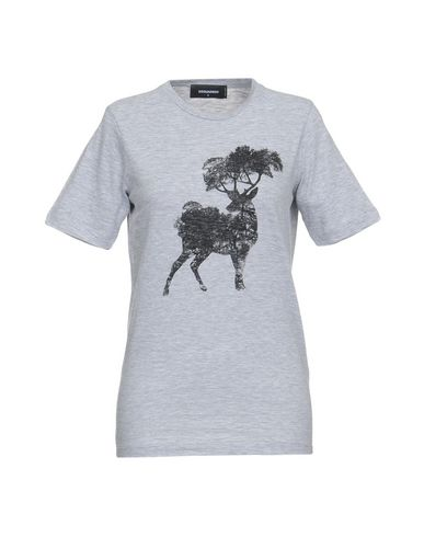 9acfbc7e4b5 Dsquared2 T-Shirt - Women Dsquared2 T-Shirts online on YOOX Portugal ...