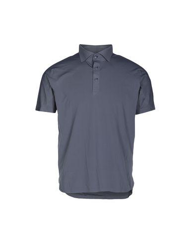 DESCENTE Polo Shirts in Grey