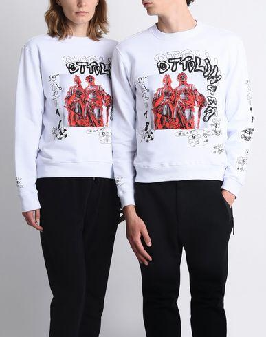 X Yoox Ottolinger Blanc shirt Sweat ACx5xdq