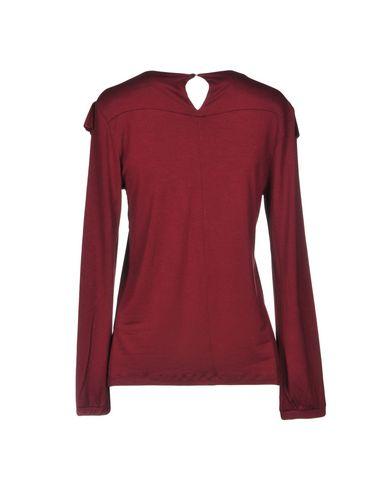 T shirt Bordeaux Pois A Rose' q6EXTw