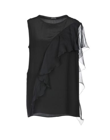 e217c5e890 VERSACE Silk top - T-Shirts and Tops | YOOX.COM