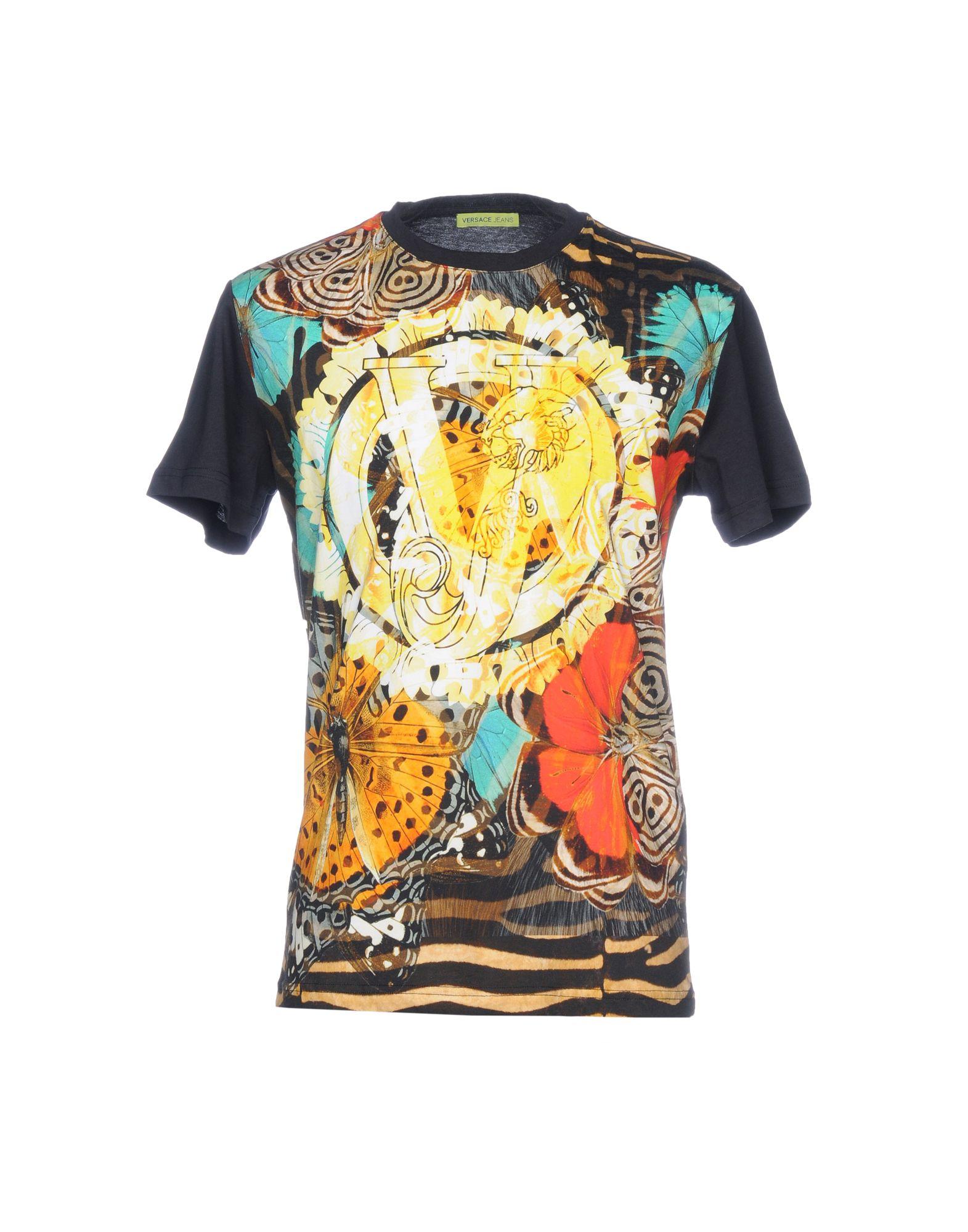 T-Shirt Versace Uomo Jeans Uomo Versace - 12196514HX 902e4d