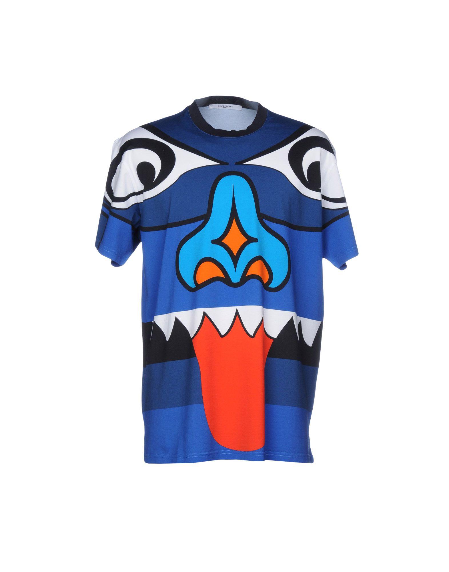 fa15b7388ce9 Givenchy T-Shirt - Men Givenchy T-Shirts online on YOOX United ...