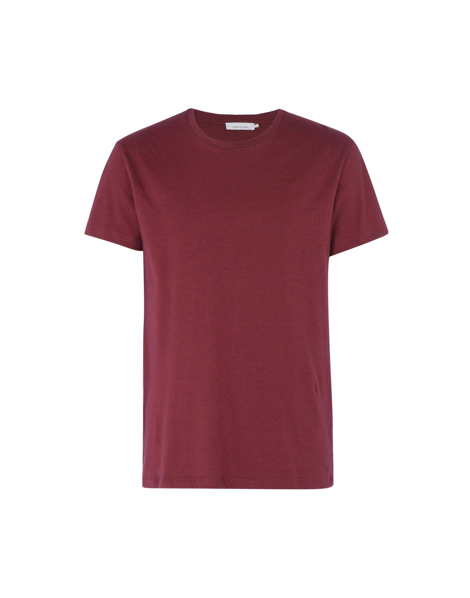 T-Shirt Samsøe Φ Samsøe Kronos Stripe - - uomo - 12198874BP  Factory Outlets