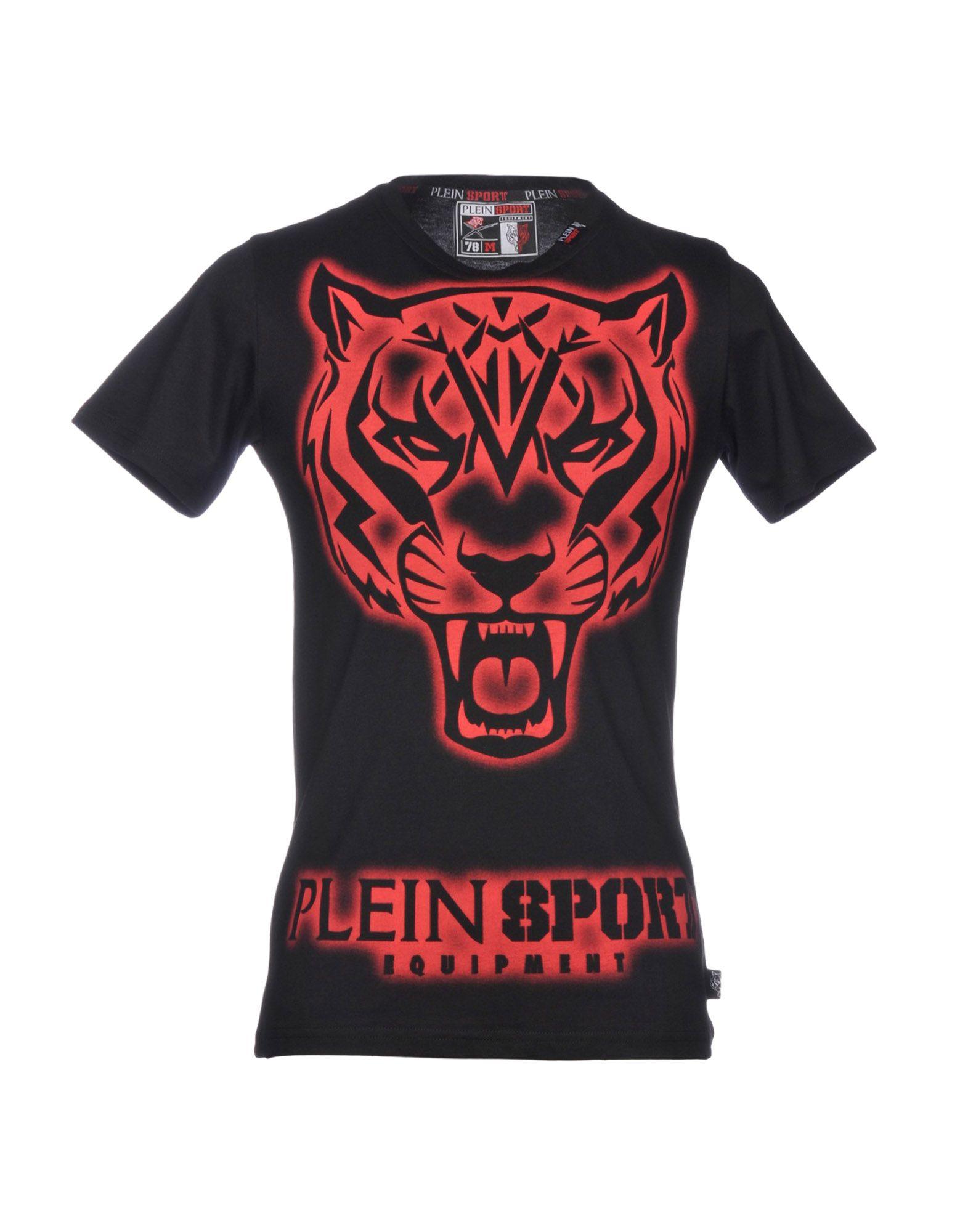 T-Shirt Plein Sport Uomo Uomo Sport - 12199504UI e8ba18