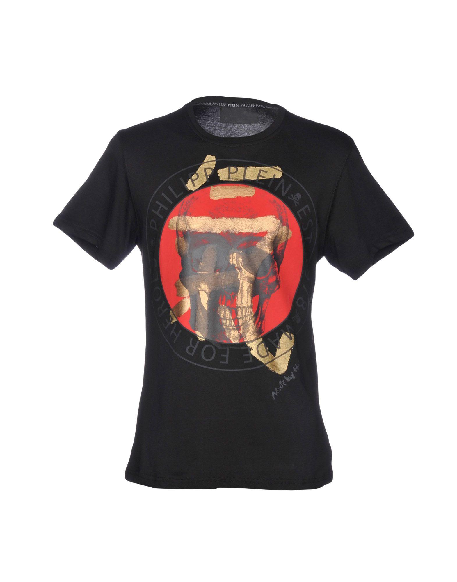 T-Shirt Philipp Philipp T-Shirt Plein Uomo - 12200260SA 862c16