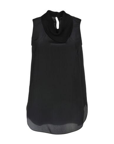 emporio-armani-silk-top---t-shirts-and-tops-d by emporio-armani