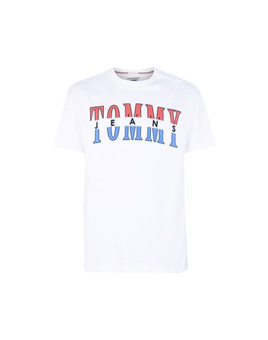 072cf940 Tommy Jeans Tjm Split Logo Tee - T-Shirt - Men Tommy Jeans T-Shirts ...