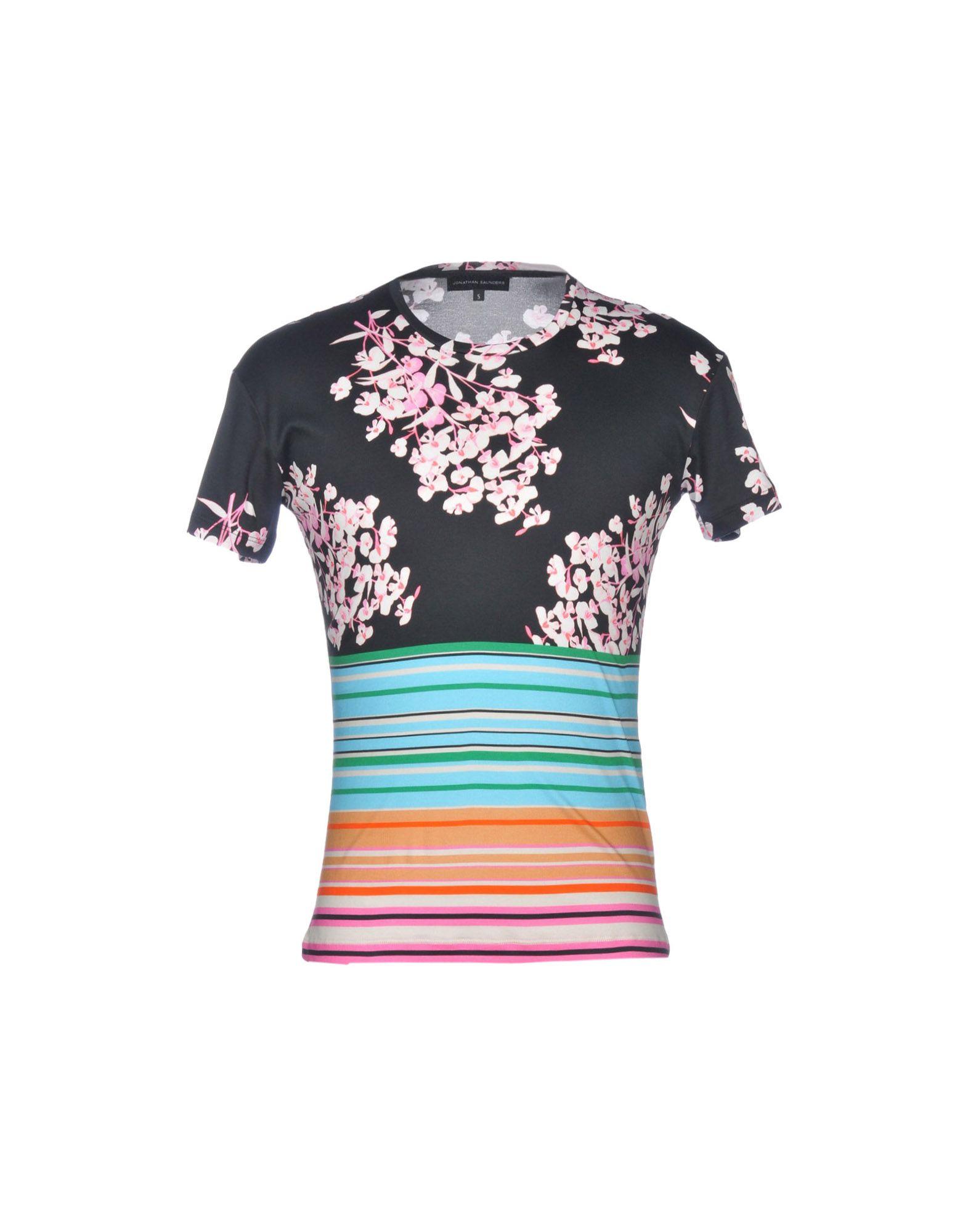 T-Shirt Saunders Jonathan Saunders T-Shirt Uomo - 12204365JD 6f0394