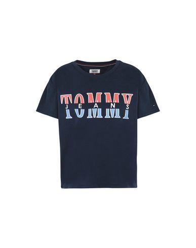 7931d5f2e74b Tommy Jeans Tjw Retro Logo Tee - T-Shirt - Women Tommy Jeans T ...
