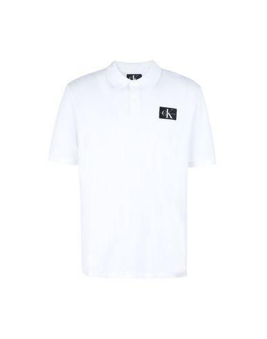 Calvin Klein Jeans Monogram Logo Pique - Polo Shirt - Men Calvin ... 18e217dc2f0