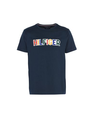 Tommy Hilfiger Tommy Graphic Tee - T-Shirt - Men Tommy Hilfiger T ... 86b3c36eff1