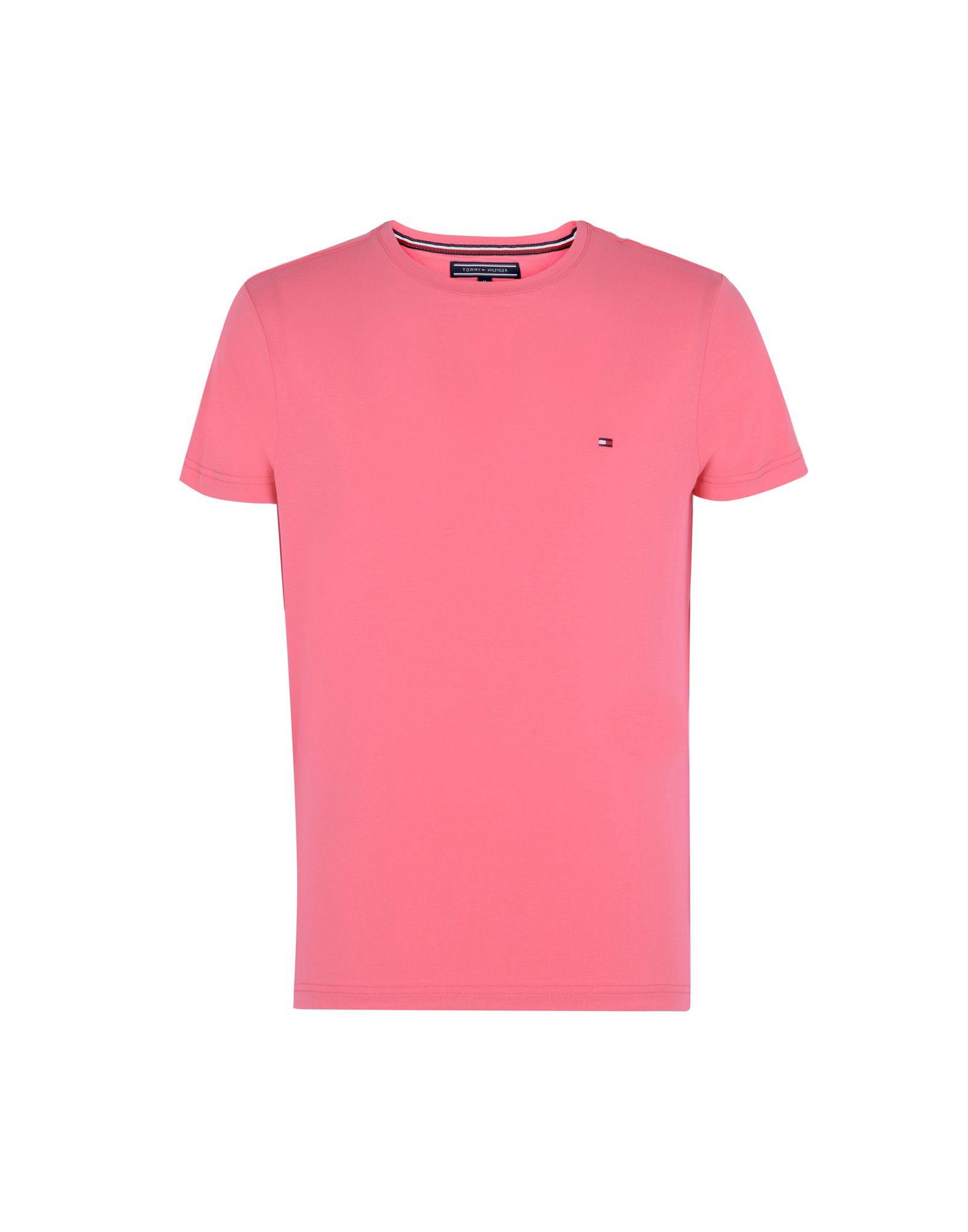 740a4a0f3 Tommy Hilfiger Stretch Slim Fit Tee - T-Shirt - Men Tommy Hilfiger T ...