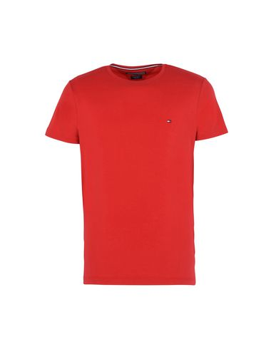 5e648e8d Tommy Hilfiger Stretch Slim Fit Tee - T-Shirt - Men Tommy Hilfiger T ...