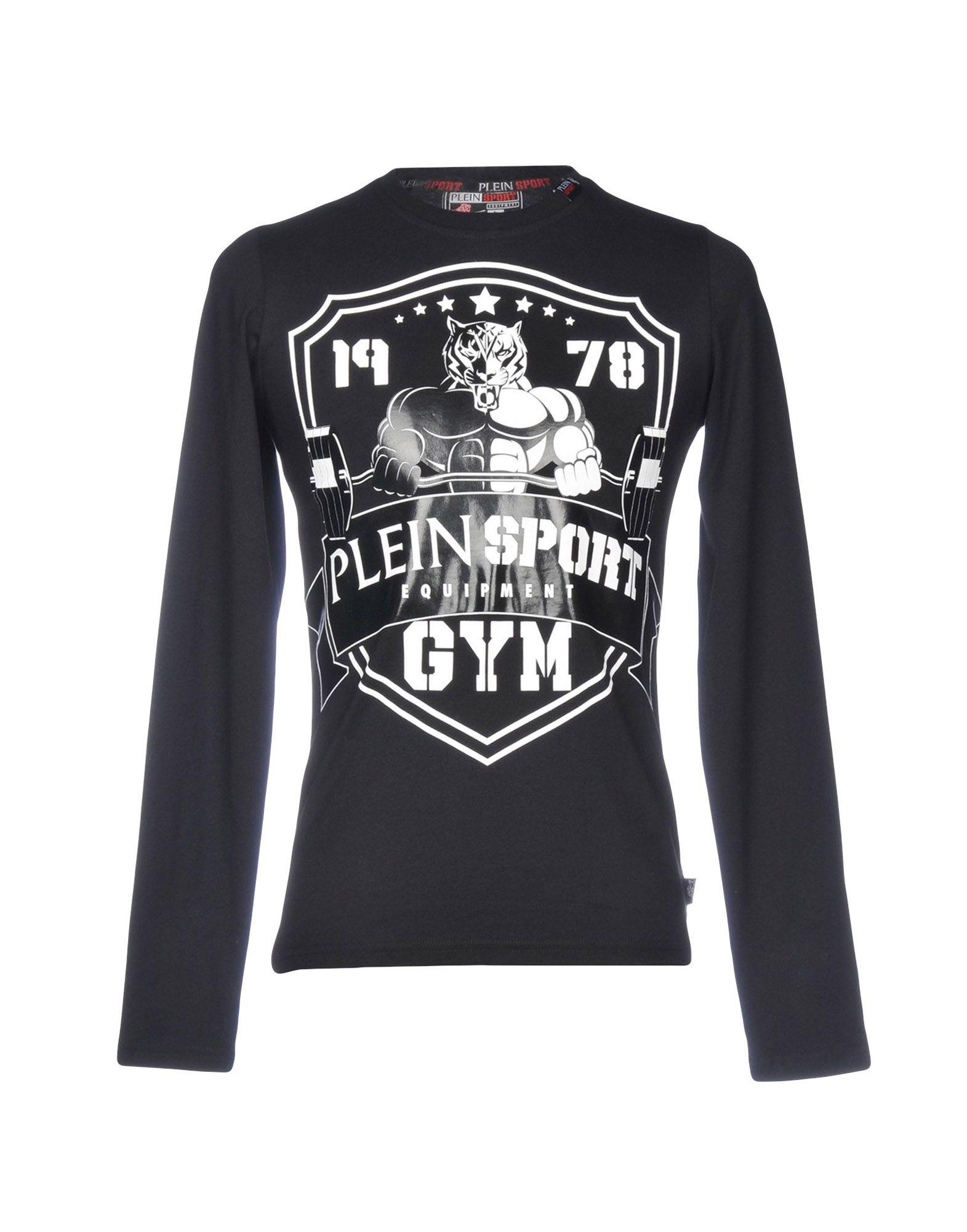T-Shirt Plein Sport Uomo Uomo Sport - 12207181UL 4cbec0