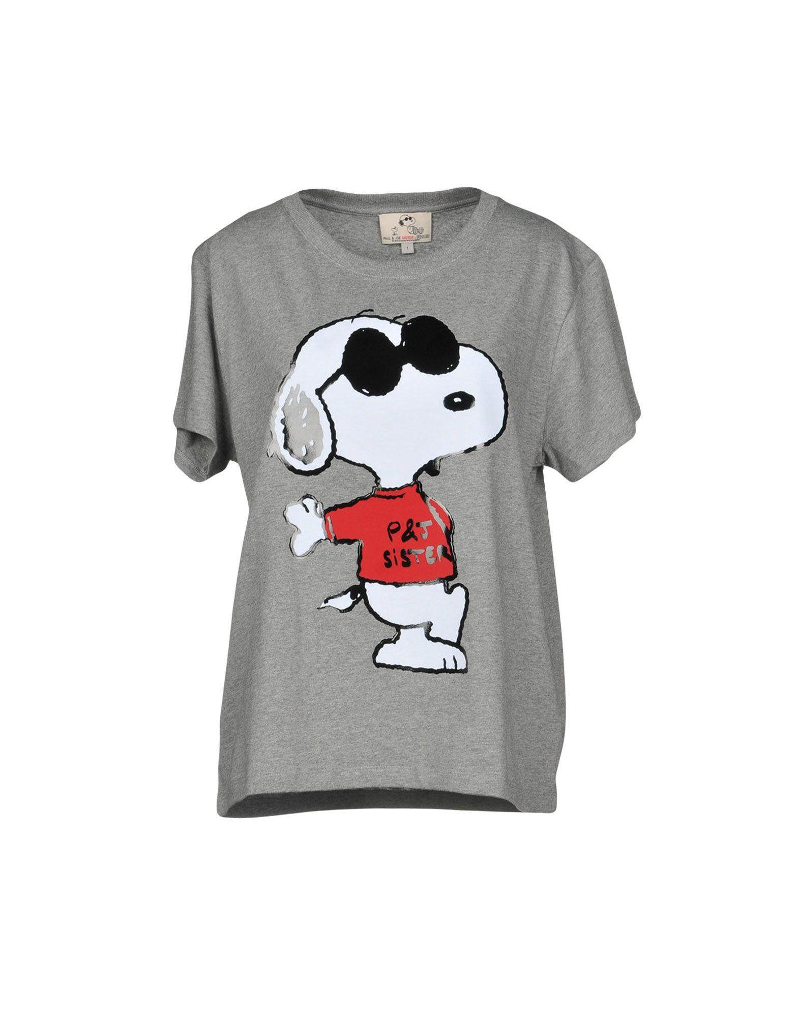 T-Shirt Paul & Joe Sister Sister Sister donna - 12207718FE c3e