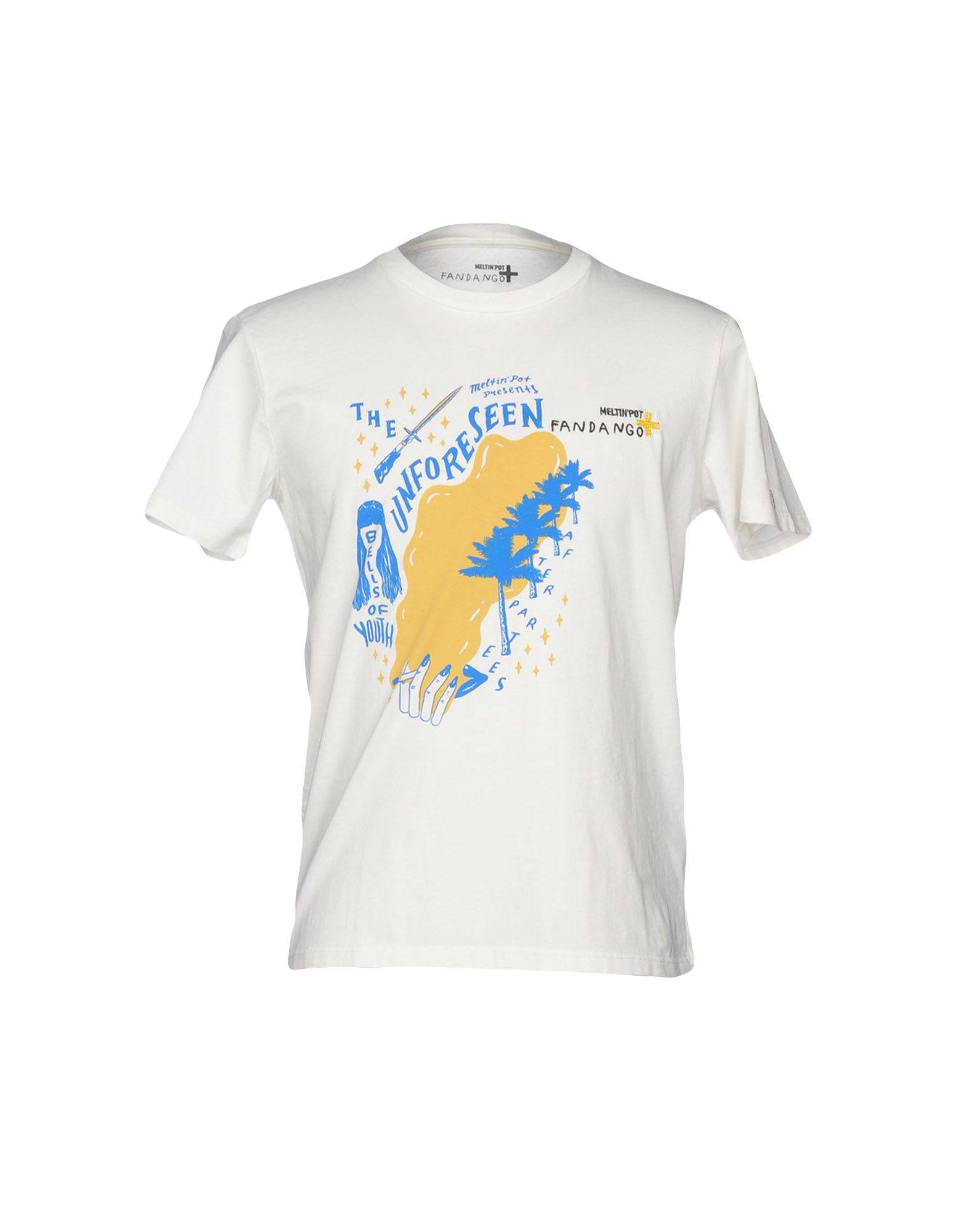 T-Shirt Meltin Pot Uomo Uomo Pot - 12208729DB fcd84d