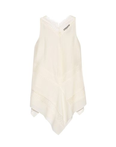 WES GORDON Top in Ivory