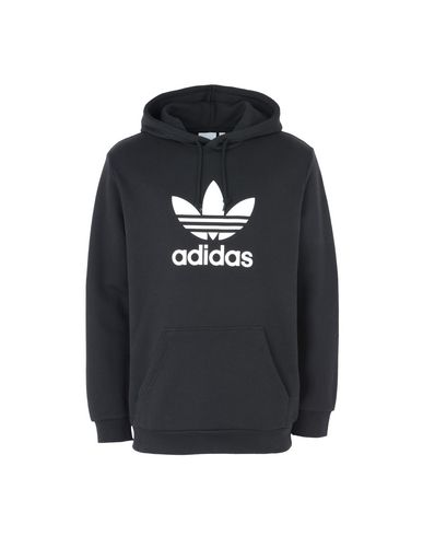 3b8162c085cd Adidas Originals Trefoil Hoodie - Hooded Track Jacket - Men Adidas ...