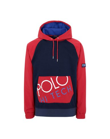 POLO RALPH LAUREN Hooded track jacket - Jumpers and Sweatshirts | YOOX COM