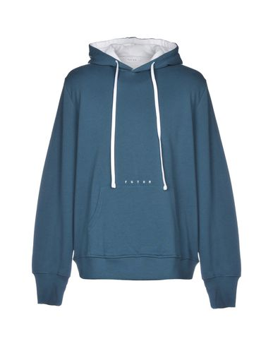 FUTUR Hooded Sweatshirt in Deep Jade
