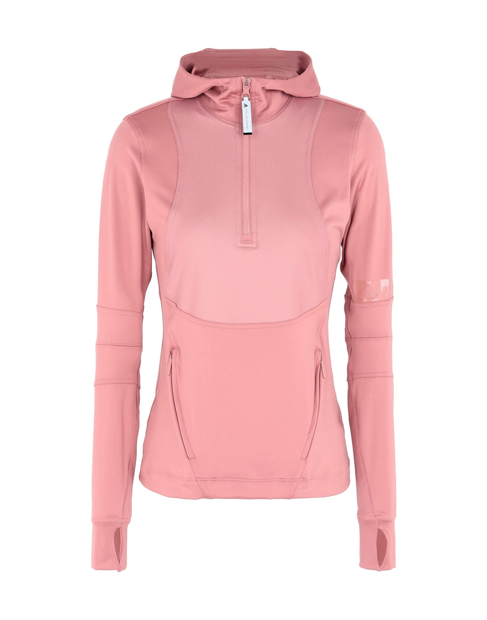 ff3a8fbbafae ADIDAS by STELLA McCARTNEY. Run Hooded Longsleeve. Hooded track jacket