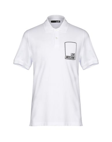 low priced 8685e a8662 LOVE MOSCHINO Polo shirt - T-Shirts and Tops | YOOX.COM