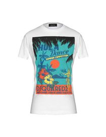 Dsquared2 T-Shirt - Dsquared2 Uomo - YOOX b3276116b371