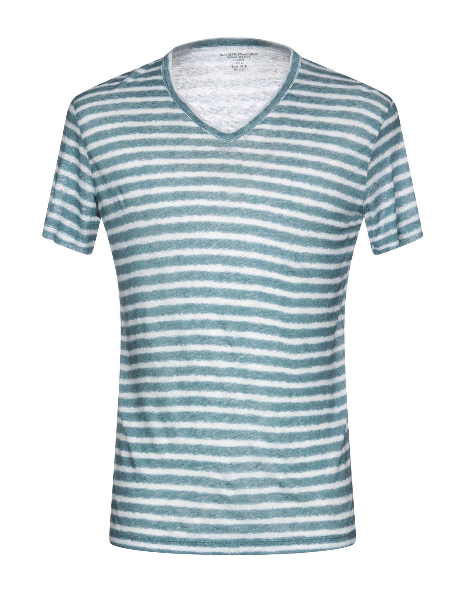 T-Shirt Majestic Filatures herren - 12224576NQ