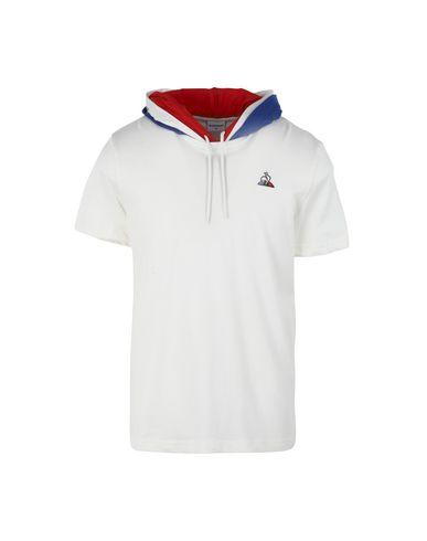 Le Coq Sportif Tri Tee Hood Ss N°1 M Marshmallow - Sports T-Shirt ... 87f3e26af