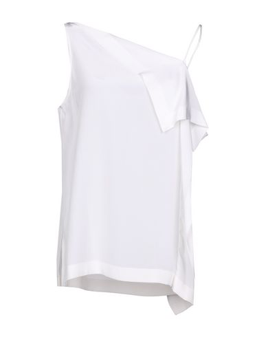 Dion Lee Silk Top   T Shirts And Tops by Dion Lee