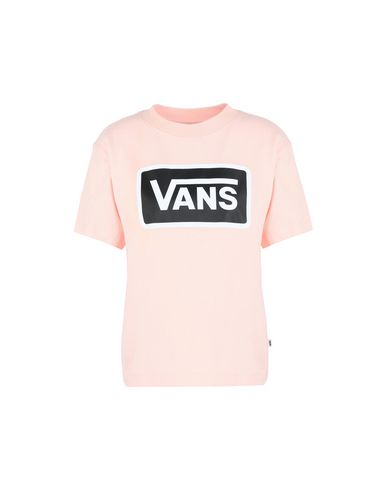 t shirt vans femme orange