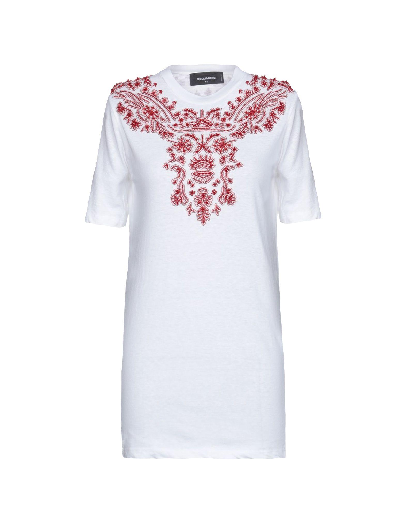 T-Shirt Dsquarot2 damen - 12231296UE