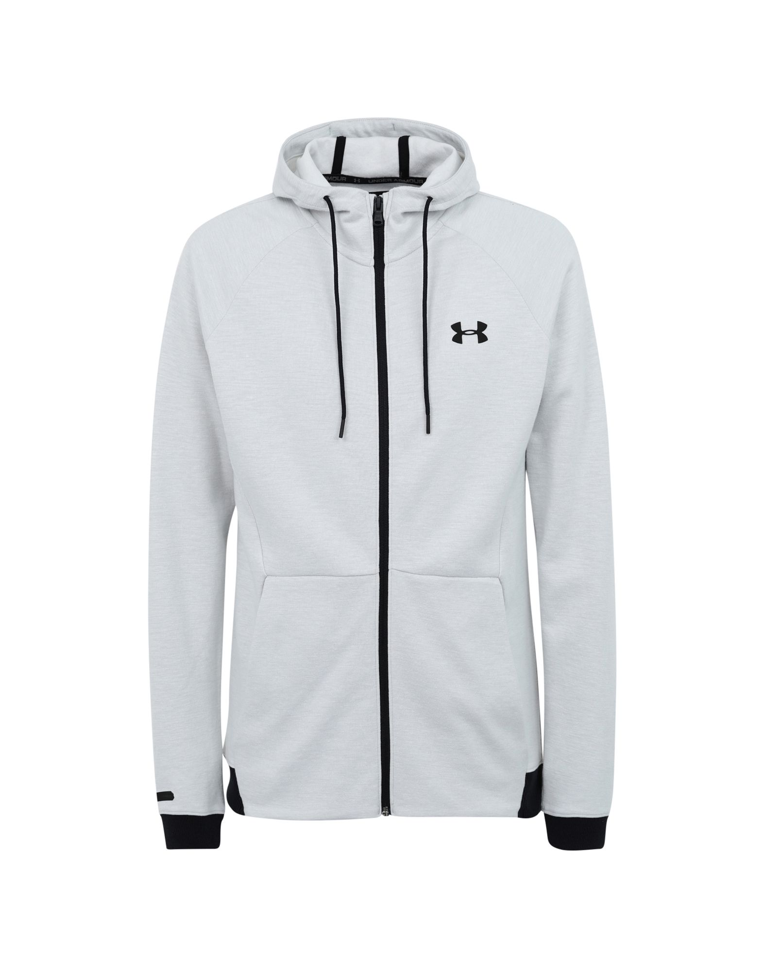 Under Armour hoodie Unstoppable 2x Knit FZ Grigio