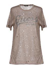 venta reino unido paquete elegante y resistente venta en línea Guess Camisetas & Tops - Guess Mujer - YOOX