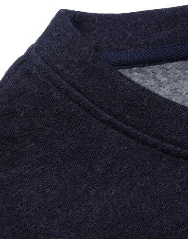 A c Foncé Bleu Sweat p shirt ZU1Tw