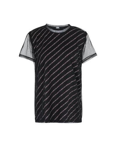 Shirt T Femme Yoox Lagerfeld Sur Karl Shirts OkuPZiX