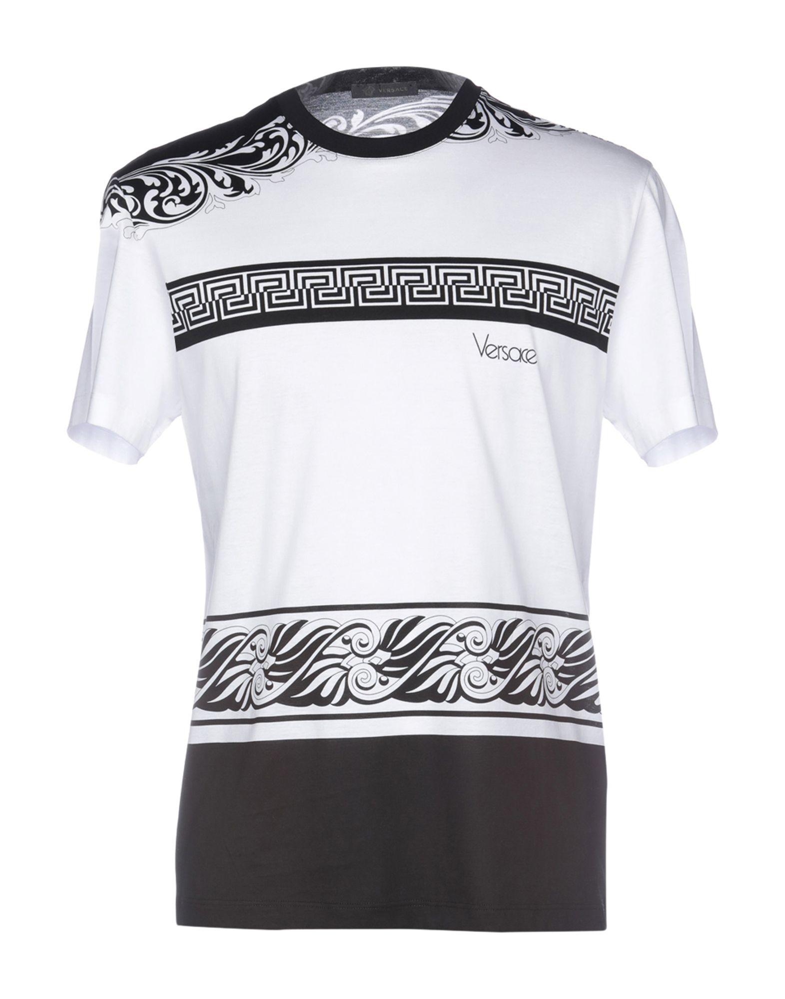 VERSACE T-shirt - T-Shirts and Tops | YOOX COM