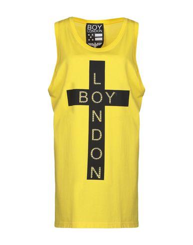 BOY LONDON Tank Top in Yellow