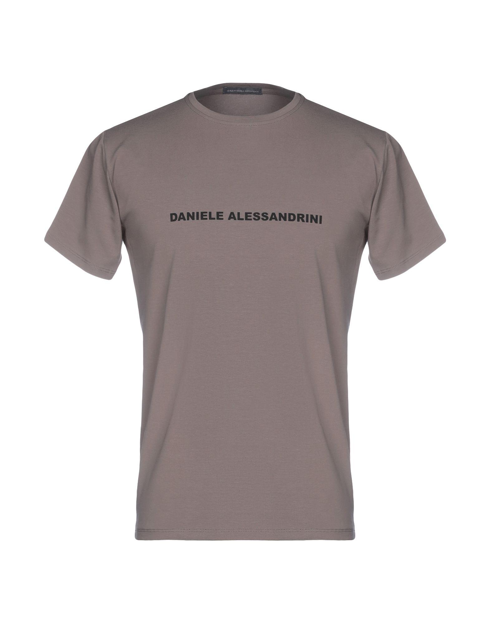 T-Shirt T-Shirt Daniele Alessandrini uomo - 12243343BL  billig
