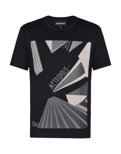 Emporio Armani T-Shirt - Men Emporio Armani T-Shirts online on YOOX ... 1ec0df0be