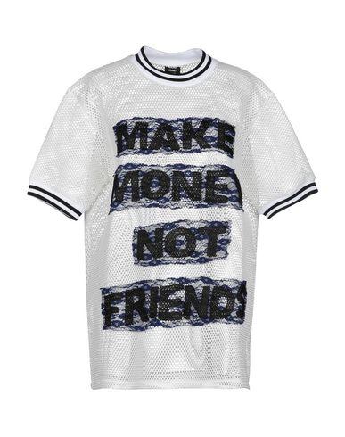 MAKE MONEY NOT FRIENDS T-Shirt in White