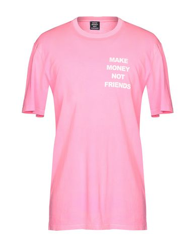 MAKE MONEY NOT FRIENDS T-Shirt in Pink