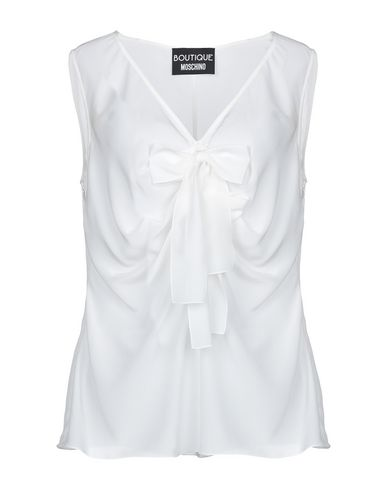 Boutique Moschino Silk Top   T Shirts And Tops by Boutique Moschino