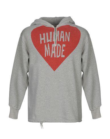 HUMAN MADE Hooded Sweatshirt in Grey