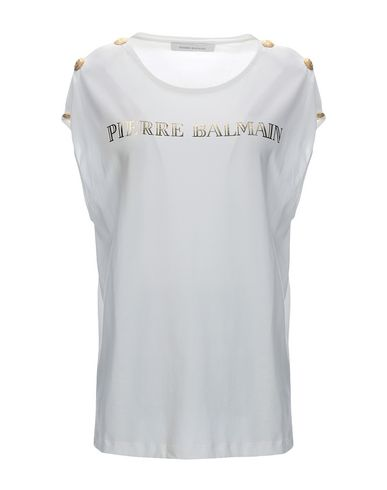 61424782 Pierre Balmain T-Shirt - Women Pierre Balmain T-Shirts online on ...