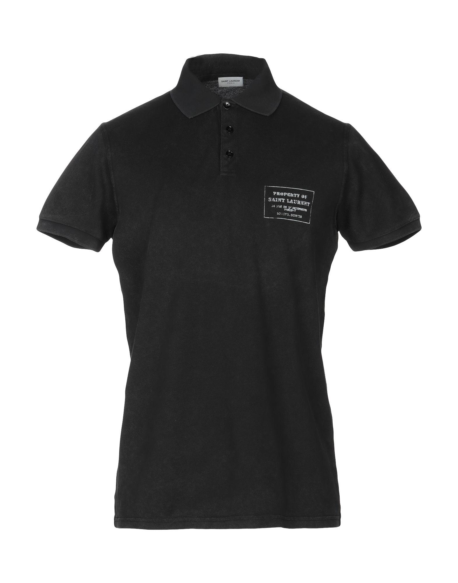 555b6a6ab41cda Saint Laurent Polo Shirt - Men Saint Laurent Polo Shirts online on YOOX  United States - 12250876LB