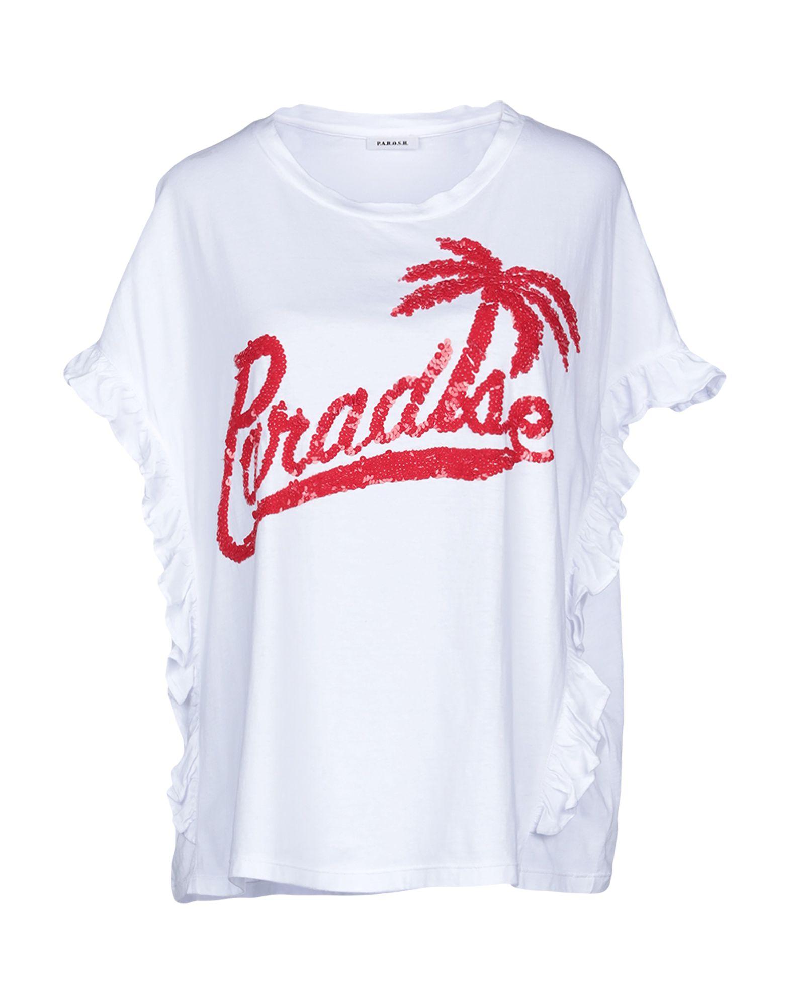 T-Shirt P.A.R.O.S.H. damen - 12251601ED